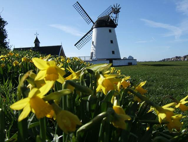 Lancashire in the Springtime - Lytham Windmill
