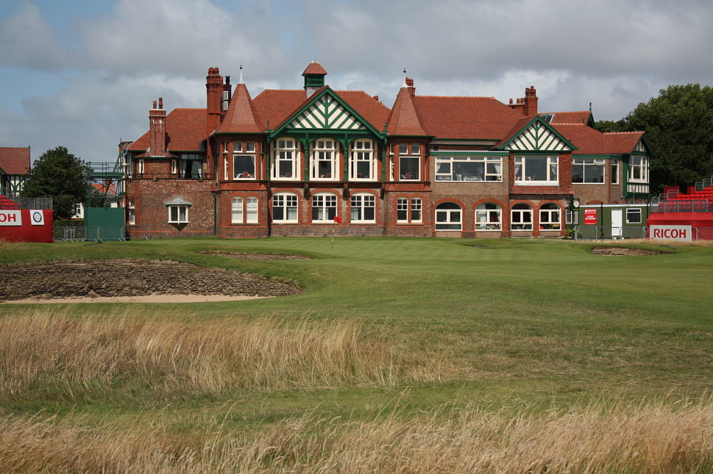 The Clubhouse at Royal Lytham Golf Club