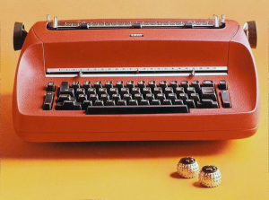 The IBM Selectric II, circa 1974