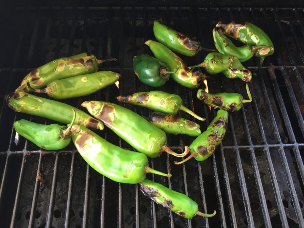 Nicely Roasted Chilis